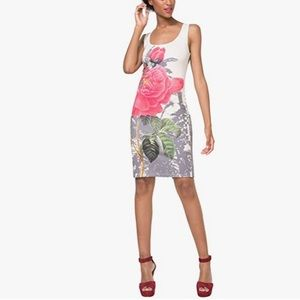 Desigual Sharyka bold floral print dress